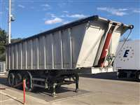 semitrailer used with square alloy body